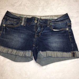 Guess Stretch Denim Jean Shorts Size 29